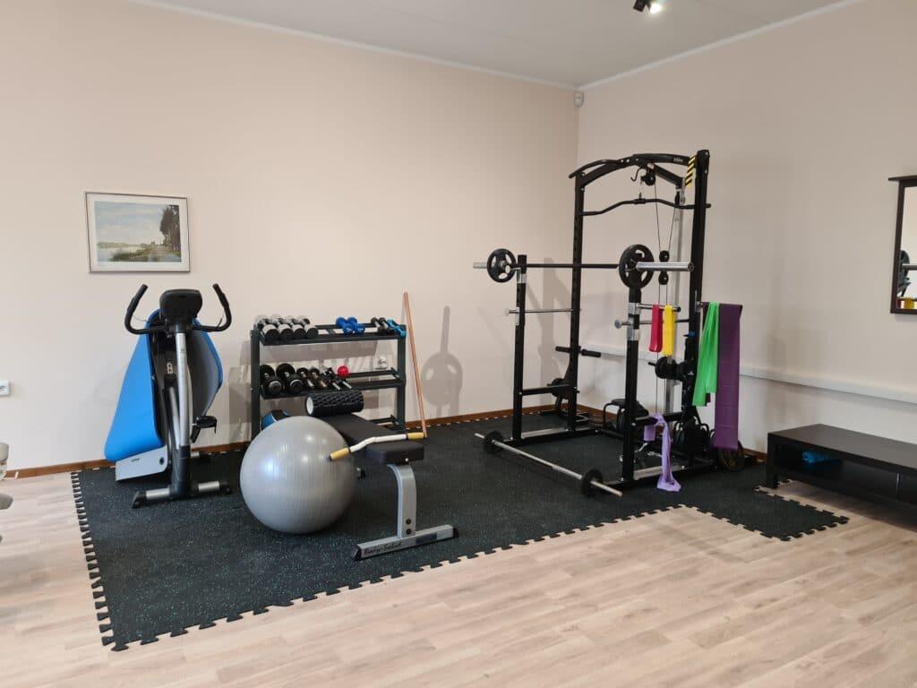füsioterapeut gym